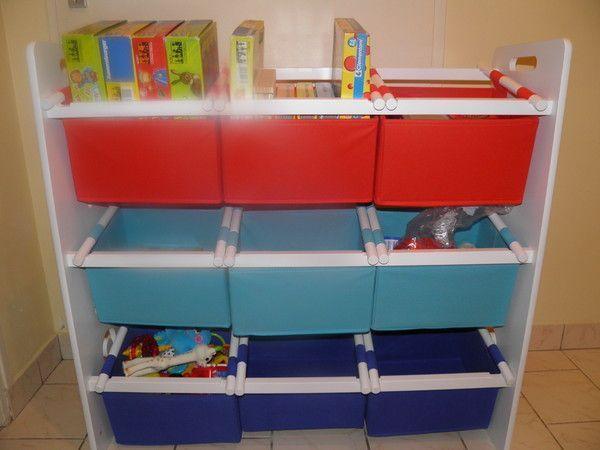 Tag re pour ranger les jeux et petits jouets - Ranger les jouets ...